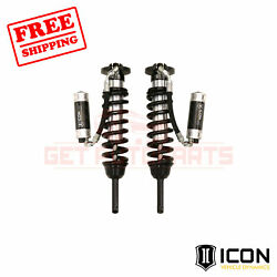 Icon Extended Travel Remote Reservoir Cdcv Coilover Kit For Toyota Tacoma 16-18