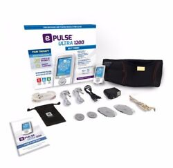 E-pulse Ultra 1200 Belt Combo Tens Ems And Ces Settings Best Selling Tens Unit