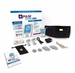 E-pulse Ultra 1200 Belt Combo, Tens Ems And Ces Settings Best Selling Tens Unit