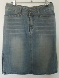 Sussan Womens Denim Skirt Blue Size 8 Ladies Jeans Skirt VERY GOOD CONDITION