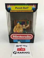 Vintage Nintendo Mario Zelda Punch Out Trophy Figure Little Mac And King Hippo