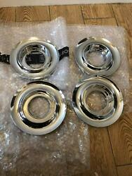 4x New Rolls Royce Ghost Centre Hub Cover Chrome 3613677346 On Sale