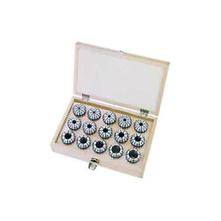Er25 Metric Round Collet Set, 14 Pieces, 3mm Inside Diameter To 16mm Inside