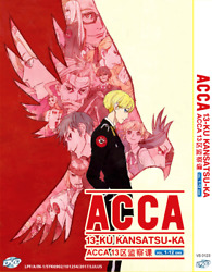 Dvd Acca 13-territory Inspection Dept. Tv 1-12 End English Subtit +tracking