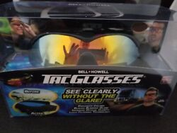 The Original Bell and Howell Tac Glasses Sports Polarized Sunglasses Outdoors $13.49