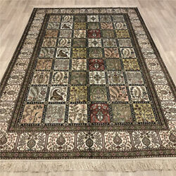 Yilong 6and039x9and039 Quality Handmade Silk Carpet Four Seasons Hand Woven Area Rugs 201b