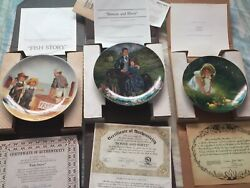 Norman Rockwell Plates Lot
