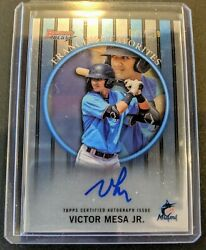 Victor Mesa Jr. 2019 Bowmanand039s Best Franchise Favorites Auto /150 Miami Marlins