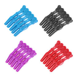 5Pcs Salon Crocodile Hair Styling Clips Sectioning Alligator Hair Hairpins Tools