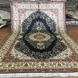 Yilong 5and039x8and039 Medium Handmade Classic Silk Area Rugs Hand Knotted Carpets L43b