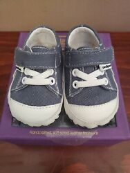 Baby Boy Pediped Sam Navy Sneakers 0 6 months $24.00
