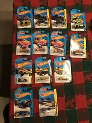 Hot Wheels Treasure Hunt Lot Of 13 With Jeep Cj-7 And Vw Beetle