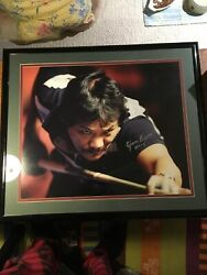 Efren Reyes Large Picture Frame With His Autograph 30x26