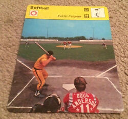 1979 Eddie Feigner Softball King And His Court Sportscaster Card 53-16