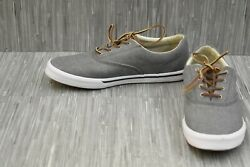 Sperry Striper II CVO Washed (STS17393) Causal Sneakers - Men's Size 12 - Grey