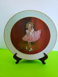 The Shirley Temple Baby Take A Bow 1935 Signed Collectors Plate 2088 Of 2500