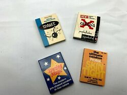 Set Of Four Vintage Condom Packs Great Advertising Items