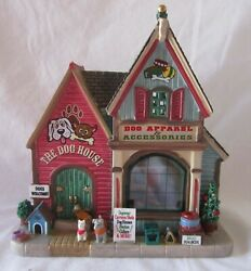 Lemax Christmas Village Dog Apparel And Accessories / The Dog House 55978 @2015