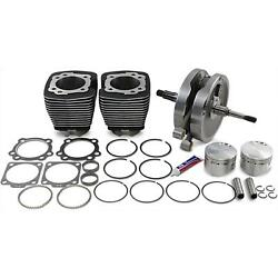 S And S Cycle Kit 96swindr Blk 84-99 91-7661