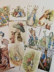 Vintage Style Easter Cards-bunny Die Cuts/gift Tags 60 Piece/beatrix Potter