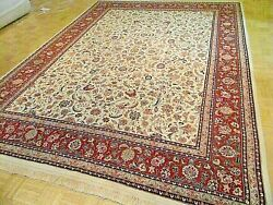 9x12 Chinese Rug Silk And Wool Sino Ivory Authentic 100 Wool Oriental Fine Rug