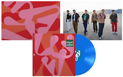 Monsta X - All About Luv Exclusive Limited Edition Sky Blue Vinyl Lp W/ Poster