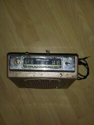 Vintage Car/truck Radio-1940and039s Untested For Parts