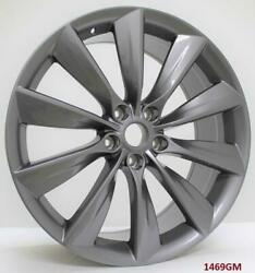 22and039and039 Wheels For Tesla Model S 100d 75d P100d Staggered 22x9/22x10
