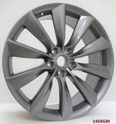 22and039and039 Wheels For Tesla Model S 60 85 P85 P85d Staggered 22x9/22x10