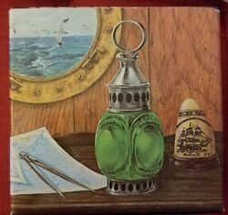 Vtg Avon For Men Whale Oil Lantern Wild Country After Shave Nib 1974