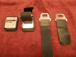 1965 1966 Ford Seat Safety Belt Buckles D-rings Fomoco B5a Jr Mustang F-150
