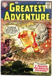 My Greatest Adventure 18-1957-jack Kirby Cover And Story-house Of Secrets-rare