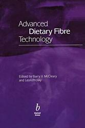 Advanced Dietary Fibre Technolog Mccleary Prosky 9780632056347 New-