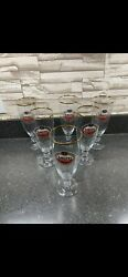 Amstel Light Beer Glasses. Set Of 6. In Great Condition, No Chips, No Cracks.