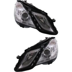 Mb2503182 Mb2502182 Headlight Lamp Left-and-right For Mercedes E Class Sedan
