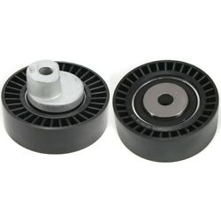 Set Of 2 Accessory Belt Tension Pulleys For 3 Series 318 323 325 330 525 Pair