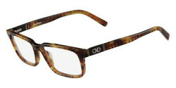New Authentic Salvatore Ferragamo Menand039s Optical Frame Sf2772 Marble Brown 55mm
