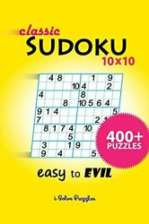 Classic Sudoku 10x10 400+ Isolvepuzzles New 9781388702229 Fast Free Shipping