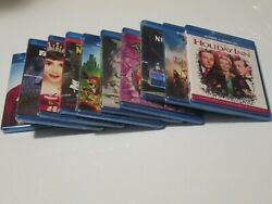 Blu-ray Lot Of 10 Movies Mirror Mirror Legends Of Oz Holiday Inn Family Guy ..