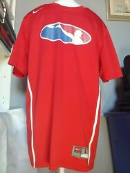 Disc Frisbee Golf Nike Dri-Fit Large Red with White Stripe