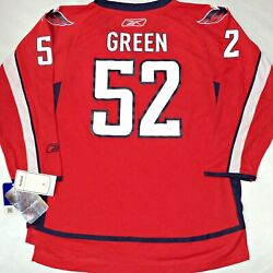 Youth-l/xl-nwt Mike Green Red Washington Capitals Reebok Licensed Hockey Jersey