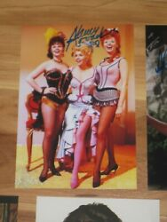 Actress Nancy Kovack Signed 4x6 The Wild Westerners Photo Autograph