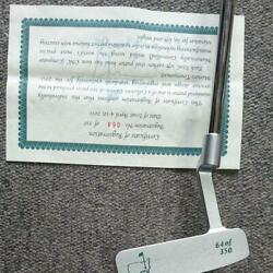2011 Masters Mallet Type Putter 34 Inches Serial No64 Unused Japan Rare 229/mt