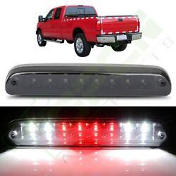 Dual Rows Led 3rd Brake Light W/ Cargo Lamp For 01-05 Ford Explorer Sport Trac