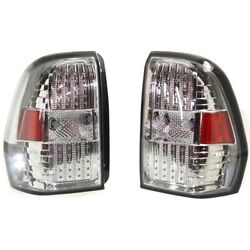Pair Tail Lights Lamps Set Of 2 Left-and-right For Chevy Lh And Rh Trailblazer Ext