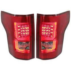 Set Of 2 Tail Lights Lamps Left-and-right For F150 Truck Performance F-150 Pair
