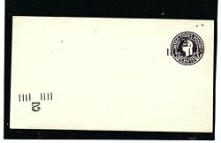 Stock Usa Stationery Ps Scott 468m Triple Overprint Entire/one Inverted. Unknown