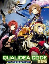 Dvd Anime Qualidea Code Chapter 1 - 12 End English Subtitles Tracking Shipping