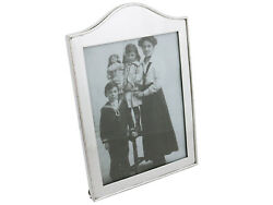 Edwardian Sterling Silver Picture Frame By Goldsmiths And Silversmiths Co Ltd