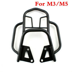 Black Metal Rear Shelf Refitted Box Tail Fin Luggage Rack For M3/m5 Motorcycle